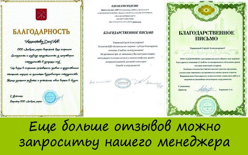 Отзывы о работе Сладков