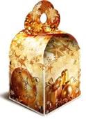 кубик золотой