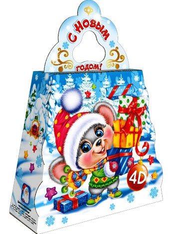 "Новогодний подарок ""ёлочка мышка"""