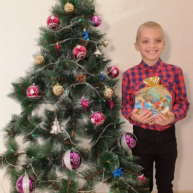 """Новогодние подарки из конфет """"Органза"""""""