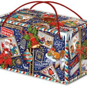 Новогодний подарок «Посылка» 1000 граммов