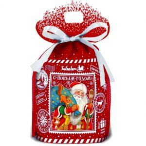Новогодний подарок мешочек «Посылка»