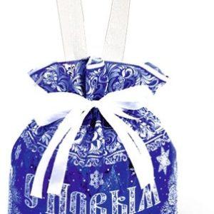 Новогодний подарок мешок «От Деда Мороза» 2000 граммов