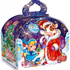 Новогодний подарок «Вечерняя прогулка» 850 граммов