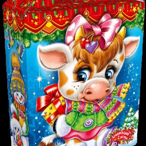 Новогодний подарок «Борька и Зорька» 1000 граммов