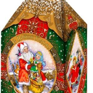 Новогодний подарок ларец «Сказка» 2000 граммов