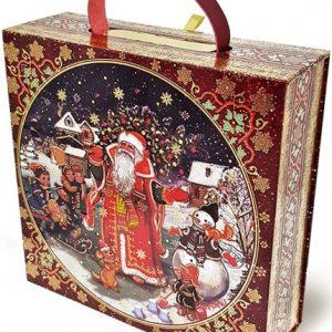 Новогодний подарок «Чемодан на магнитах» 1500 граммов