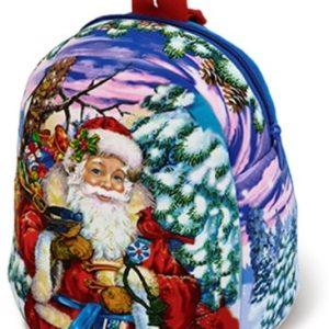 Новогодний подарок рюкзак «Милый Дедушка Мороз» 1200 граммов