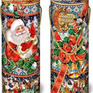 Новогодний подарок туба «Бантик» 1200 граммов