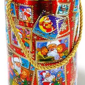 Новогодний подарок туба «Посылка» 1000 граммов