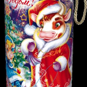 Новогодний подарок Туба «Вечерняя прогулка» 700 граммов