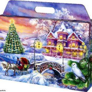 Новогодний подарок портфель «ПОРТФЕЛЬ ЗАКАТ» 1500 граммов