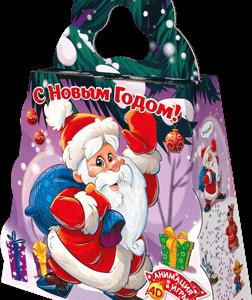 Новогодний подарок портфель «ПОД ЁЛКОЙ» 1500 граммов