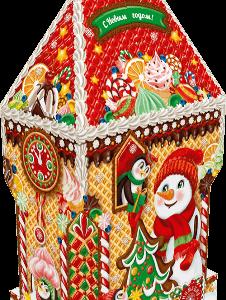 Новогодний подарок «ЗАМОК ВАФЕЛЬНЫЙ» 2000 граммов