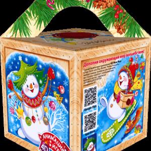 Новогодний подарок «КУБИК ПОЧТАЛЬОН»