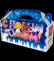 Коробка с Новым Годом